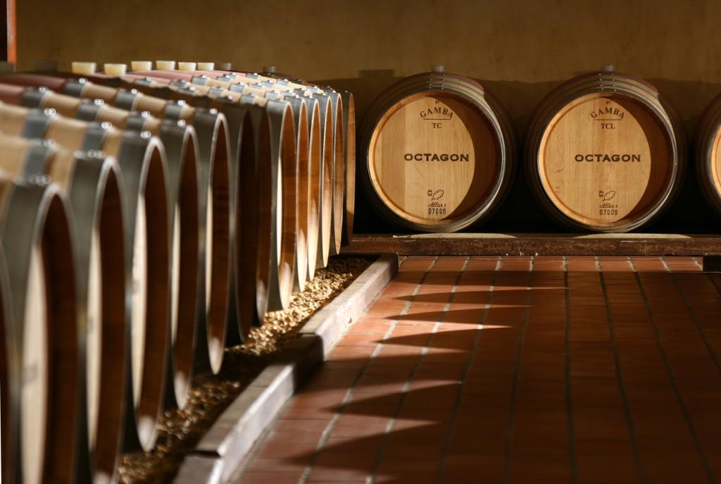 barboursville barrels octagon oak aged age aging vineyard virginia