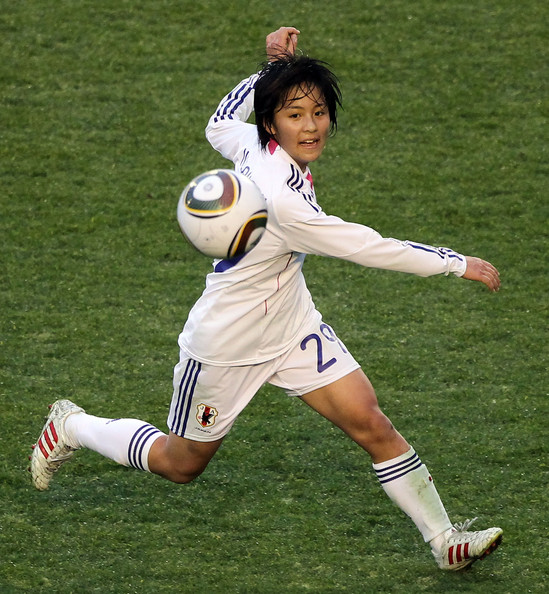 Mana Iwabuchi Japan world cup soccer 2011 Foreign kids want to be like American Teens.