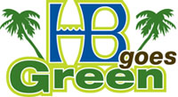 hb huntington beach goes green logo