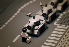 tiananmen square 1989 lego man tank Most Epic Photos: Tank Man