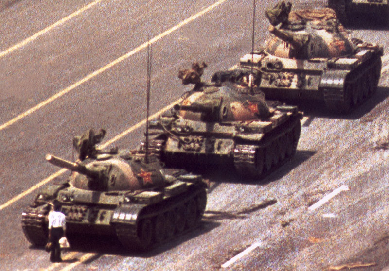 tiananmen square 1989 tank man china close up Most Epic Photos: Tank Man