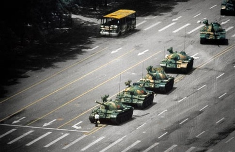  Most Epic Photos: Tank Man