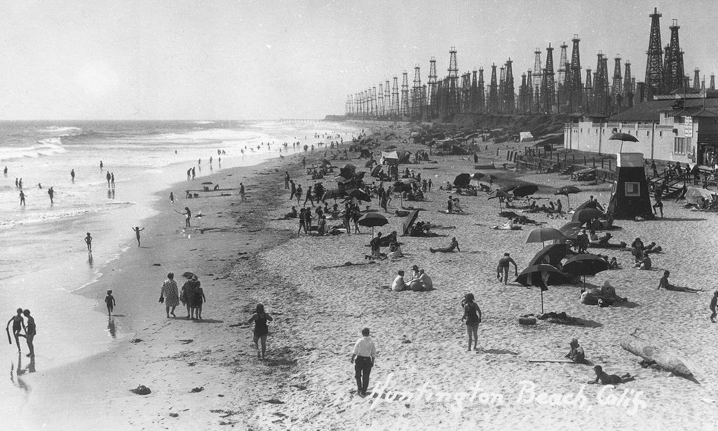 Oil Rigs In Huntington Beach
