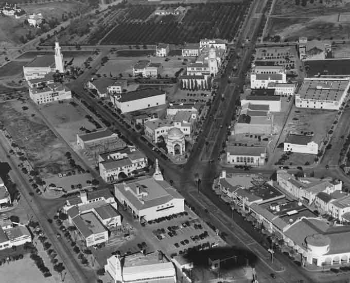 Historical Photos Of Ucla And Westwood Village From First