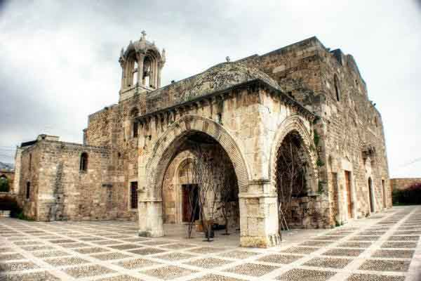 historical ruin byblos lebanon mediterranean building arch church mosque Byblos, Lebanon   oldest inhabited city in the world (7,000+ years)