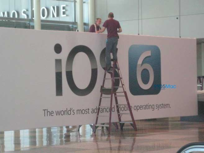 ios6 wwdc worldwide developer conference banner moscone center worlds most advanced mobile operating system Apples WWDC 2012 Conference Preview   iOS 6, new Macs, iCloud update