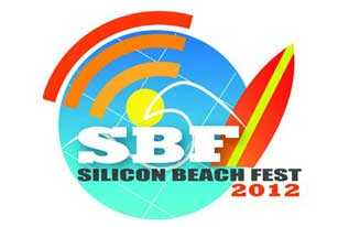 silicon beach fest 2012 santa monica venice sbf logo digital la Silicon Beach Fest   this weekend in Santa Monica   June 21 23   the SXSW of Los Angeles
