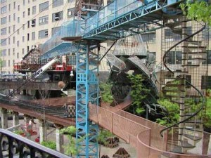 MonstroCity St. Louis Built out of found objects this post Apocalyptic structure is part of the eclectic City Museum in St. Louis Missouri 300x225 MonstroCity, St. Louis Built out of found objects, this post Apocalyptic structure is part of the eclectic City Museum in St. Louis, Missouri