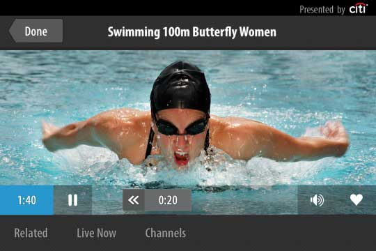 The NBC Olympics Live Extra app features the streaming of all 32 athletic competitions and the awarding of all 302 medals NBC releases iPhone/Android apps for the Olympics   live stream events on the go