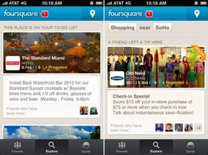 foursquare promoted updates ads the standard miami old navy location place 300x224 foursquare promoted updates ads the standard miami old navy location place