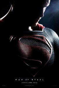 man of steel 2013 zack snyder henry cavill poster comic con 2012 san diego  202x300 man of steel 2013 zack snyder henry cavill poster comic con 2012 san diego 
