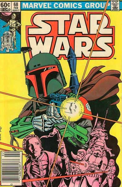 marvel comics books star wars boba fett princess leia 68 feb stormtroopers cover Retro Star Wars Art