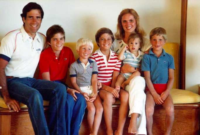 mitt romney and family kids ann picture baby boys Mitt Romney begins foreign tour of UK, Israel and Poland