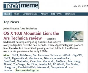 techmeme screenshot news aggregation osx lion mountain apple ars technica 300x248 techmeme screenshot news aggregation osx lion mountain apple ars technica