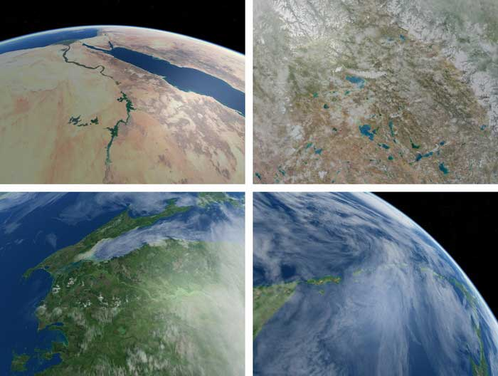 Exact simulations of the kinds of Earth images that SkyCube can capture for you Crowdsource the launch of a nano satellite into space   Kickstarter