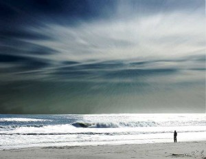 I shot this pic at Long Beach NY overlooking the Atlantic Ocean. The man ..a stranger 300x231 I shot this pic at Long Beach, NY overlooking the Atlantic Ocean.  The man ..a stranger