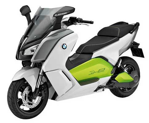 Scooters on Bmw Electric Scooters C Evolution Range Speed Charge Stylish Prototype