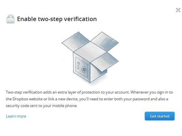 enable two step verification michael lee cnet dropbox authentication password security The two step password movement continues   Dropbox joins in