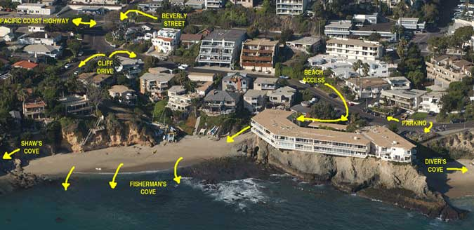 fishermans cove laguna beach directions satellite imagery Snorkeling at Fishermans Cove in Lagune Beach, CA   where, what, how, & when