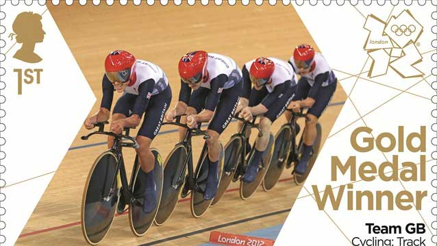 london 2012 olympic games stamps 1st place gold medal winner team track cycling Is there prize money given with olympic medals?