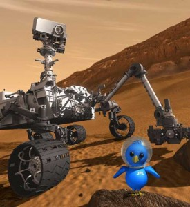 nasa mars rover curiosity Curiosity is joined by the mascot of the JPL Tweetup in this illustration created by JPL 275x300 nasa mars rover curiosity Curiosity is joined by the mascot of the JPL Tweetup in this illustration created by JPL