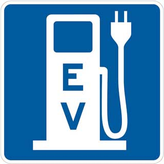 approved electric vehicle signage plugin charge outlet Majority of owners use electric vehicle as primary car