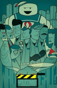 ghostbusters geometric retro movie posters Ale Giorgini 195x300 ghostbusters geometric retro movie posters Ale Giorgini