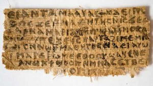 gospel of jesus wife papyrus karen king harvard disciple female dwell with her 300x169 gospel of jesus wife papyrus karen king harvard disciple female dwell with her