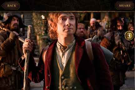 hobbit martin freeman ios iphone ipad app movie unexpected journey Peter Jackson releases an iPhone, iPad app for The Hobbit
