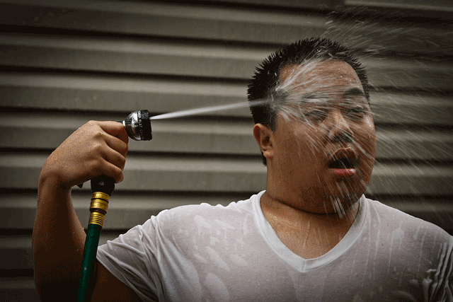 humid heat wave hose to the face nyc new york city sweating 3rd warmest summer for United States and the planet   nearly 2 degrees warmer worldwide
