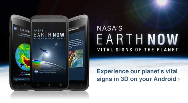 nasa earth now iphone android vital signs global warming app science data jpl jet propulsion laboratory Monitor global warming in real time with new iPhone, Android app