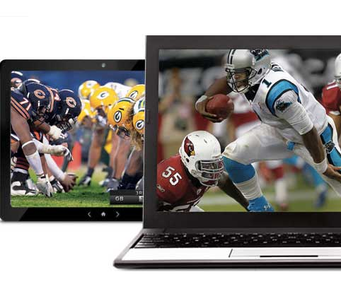nfl sunday ticket laptop online streaming ipad tablet football How to watch sports online in 2012, packages from NFL, MLB, NBA, NHL, MLS, and ESPN
