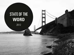state of the word 2012 matt mullenweg wordpress san francisco Summary of Matt Mullenwegs   State of the Word 2012